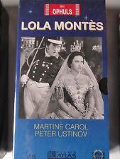 Lola Montes de Max Ophuls, VHS Atlas, Action, NEUF!!!
