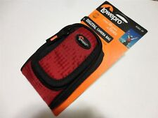 LOT OF 6 NEW LOWEPRO RIDGE 20 RED Compact Digital Camera Pouch Case Bag