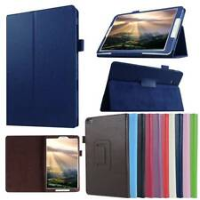 """For Samsung Galaxy Tab A S2 4 Note 8.0"""" Slim Folio Flip PU Leather Case Cover"""