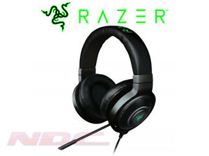 Razer Kraken 7.1 Chroma Surround Sound USB Gaming Headset - Black - PC/Mac/PS4