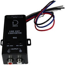 Dietz 906 Aktives High-Low Converter Interface Adapter 2-Kanal mit Remote