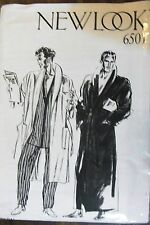 New Look sewing pattern no.6501 Men's robe one size 92