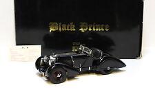 "1:24 CMC Mercedes ssk ""Black prince"" Black-En boîte chez premium-MODELCARS"