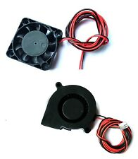 HICTOP 24V DC Turbo fan and 4010 Cooling fan for 3D printer Parts Reprap Prusa