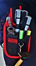 Handwerkergürtel Werkzeuggürtel Werkzeug Gürtel mit Hammerhalter 6 Fächer NEU