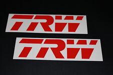 TRW Aufkleber Sticker Decal Autocollant Logo Race Dekor Motor Sport Ö45