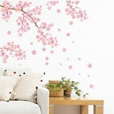 1*Cherry Flower Blossom Tree Branch Wall Sticker Home Decor Vinyl Art Decal #WE9