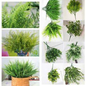Ziergrassär Grünpflanze Kunstblumen Hochzeit künstliche Blumen Farn Palme Dekor