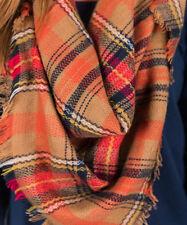 Women Oversized Blanket Tartan Scarf Long Wrap Shawl Plaid Cozy Pashmina Fashion
