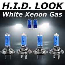 H7 H7 501 477 477 55w White Xenon HID Look Headlight Low High Beam Bulbs Package