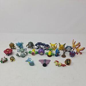Tomy Pokemon Mini Figure Bundle Vintage Retro Collectables Nintendo x25 Free P&P