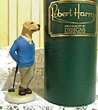 ROBERT HARROP DOG LABRADOR GOLFER No. CC34b COUNTRY COMPANIONS BOXED