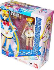 Sailor Moon Super Sailor Moon S.H. Figuarts Action Figure Bandai Tamashii New