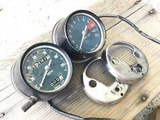 1972 Honda CB500 CB 500 Four Tachometer & Speedometer Tach Speed Gauge Dial Set