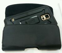 FOR EXTRA LARGE CELL PHONE LEATHER BELT CLIP BELT HOLSTER FITS HARD CASE ON PHON