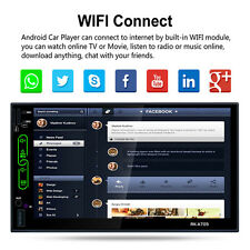 """Quad Core Android 6.0 3G WIFI 7"""" Double 2DIN Car Radio Stereo MP3 Player GPS Nav"""