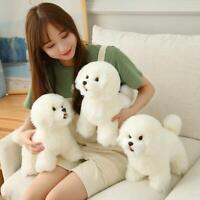 Realistic Dog Simulation Toy Dog Puppy Lifelike Stuffed Companion Toy
