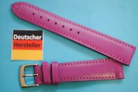 Watch Band 18mm Violet Calfskin Kaufmann Made in Germany