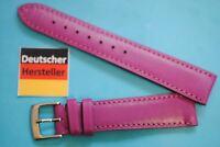 Bracelet De Montre 18mm violet cuir de veau de Kaufmann MADE IN GERMANY