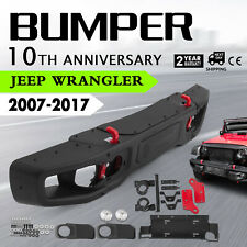 10th Anniversary Front bumper For 2007-18 Jeep Jk Wrangler Rubicon-0873