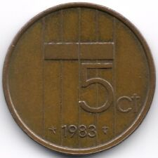Netherlands : 5 Cents 1983