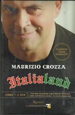 Maurizio Crozza - ITALIALAND - libro + 2 DVD nuovi (Rizzoli, 2011)