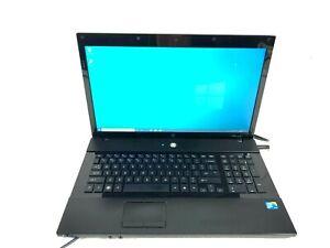 "HP Probook 4710s laptop 17"" Intel Core 2Duo P8700 2.53GHz 4GB 500GB HDD"