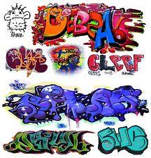 O Scale Custom Graffiti Decals #20 - Weather Your Box Cars, Gondolas & Hoppers!