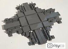 Lego® Kreuzung für City Eisenbahn NEU inkl. Schienen passend 60051, 60052, 60098