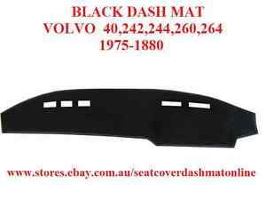 DASH MAT,DASH MAT, DASHBOARD COVER FIT VOLVO 240,242,244,260,264 1975-1880,BLACK