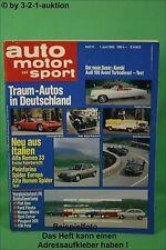 AMS Auto Motor Sport 11/83 Alfa Spider Fiat BMW 735i Audi Avant VW Polo