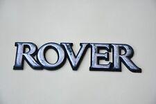 USED ROVER REAR NAMEPLATE ORIGINAL SIGN LOGO EMBLEM BADGE
