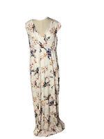 Tiffany Rose Womens Maternity Maxi Dress Size 5 (14) floral print