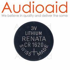 2pc RENATA CR1620 Lithium Battery 3V - Swiss Made