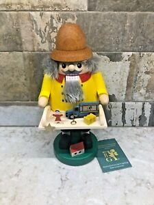 Richard Glasser Erzgebirge Toy Maker  Nutcracker..New