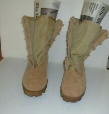Air Force Combat Weather softToe Tan Military Boots Size 10.5 R