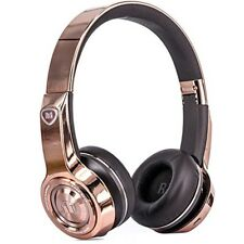Monster ELEMENTS wireless on ear headphones Bluetooth rose gold from japan
