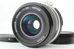 【  Excellent +++++ 5  】 Nikon Ai Nikkor 35mm f/2.8 Wide Angle Lens MF From JAPAN