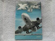 X-PLANE 10 GLOBAL EDITION PC/MAC DVD-ROM FLIGHT SIMULATOR ( brand new & sealed )