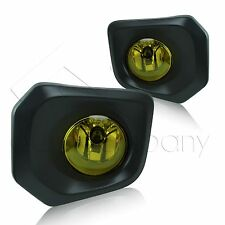 2016 Toyota Tacoma Fog Lamps/Lights w/Wiring Kit & Wiring Instructions - Yellow