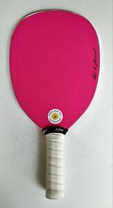 "DBall Slim TD Pickleball Paddle. Pink Made in USA 8.0oz, 4 1/8"""