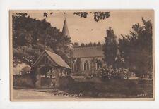 Bramshott Church & Lychgate Vintage Postcard 737a