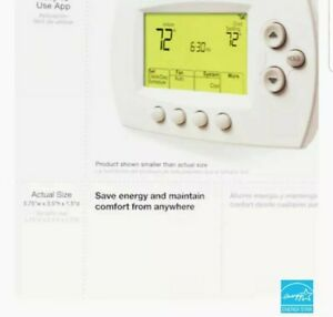 Honeywell Home Wi-Fi 7-Day Programmable Smart Thermostat Backlit Digital Display
