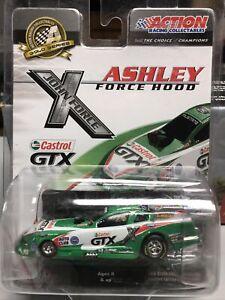 1:64 ACTION 2010 ASHLEY FORCE HOOD CASTROL GTX  NHRA MUSTANG FUNNY CAR