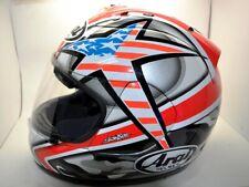 Arai Helmet RX-7 Corsair Nicky Hayden Laguna Seca Large replica moto gp AMA  #69