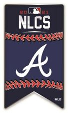 2021 MLB Nlcs Atlanta Braves Broche National League World Série Métal Base