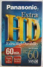 Panasonic NV-EC60HF HD Extra Compact VHSC Video Recording Tape 60 Min Blank