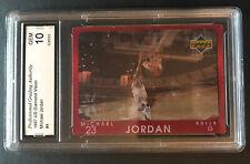 1997 Michael Jordan Upper Deck Diamond Vision GEM 10 #4 RARE LOOK!! PSA?
