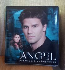 More details for angel premium trading cards season 1,2,3,4,5 set of 90 cards with binder