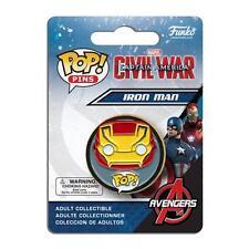 "MARVEL Captain America CIVIL WAR Licensed 1.5"" IRON MAN POP! Pin Tony Stark Team"